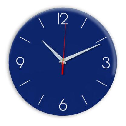Настенные часы Ideal 939 синий темный