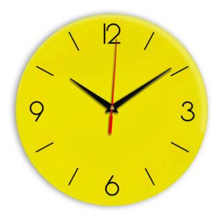 Настенные часы Ideal 939 желтые