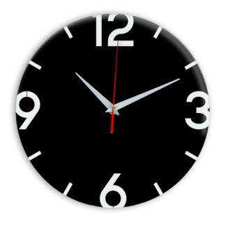 Настенные часы Ideal 941 черные