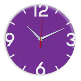 Настенные часы Ideal 941 фиолетовые