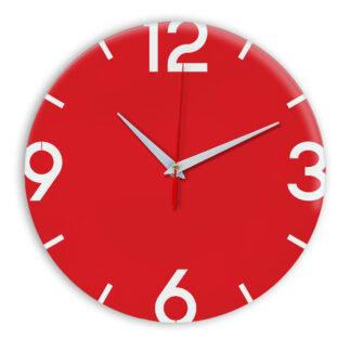 Настенные часы Ideal 941 красный