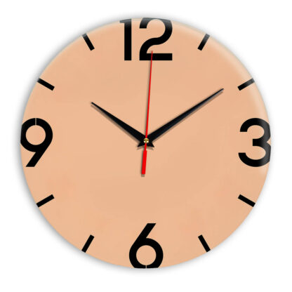 Настенные часы Ideal 941 оранжевый светлый