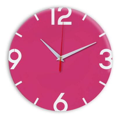 Настенные часы Ideal 941 розовые
