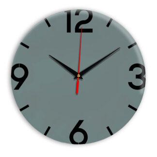 Настенные часы Ideal 941 серо синий