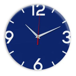 Настенные часы Ideal 941 синий темный