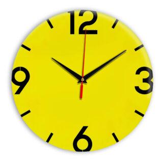 Настенные часы Ideal 941 желтые