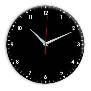 Настенные часы Ideal 942 черные