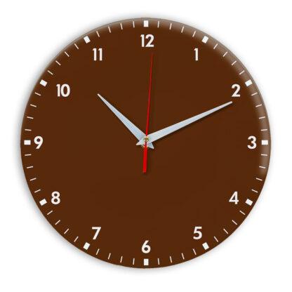 Настенные часы Ideal 942 коричневый