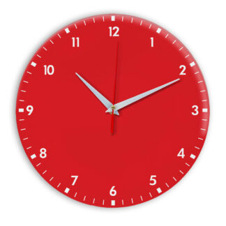 Настенные часы Ideal 942 красный