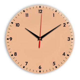 Настенные часы Ideal 942 оранжевый светлый