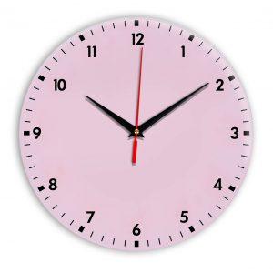 Настенные часы Ideal 942 розовые светлый