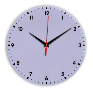 Настенные часы Ideal 942 сиреневый светлый