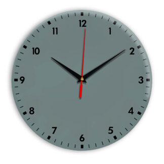 Настенные часы Ideal 942 серо синий
