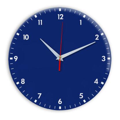 Настенные часы Ideal 942 синий темный