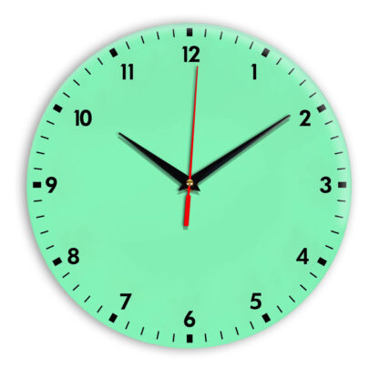 Настенные часы Ideal 942 светлый зеленый