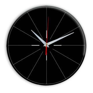 Настенные часы Ideal 954 черные