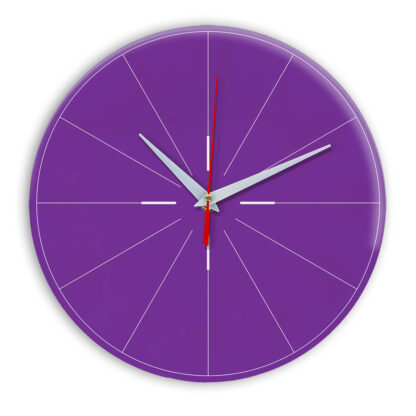Настенные часы Ideal 954 фиолетовые