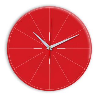 Настенные часы Ideal 954 красный