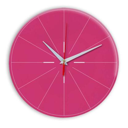Настенные часы Ideal 954 розовые
