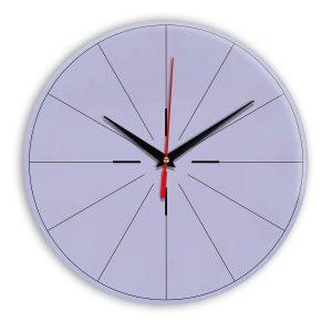Настенные часы Ideal 954 сиреневый светлый