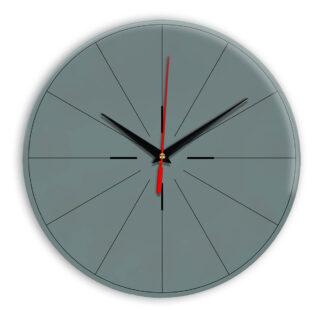 Настенные часы Ideal 954 серо синий