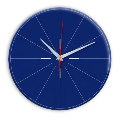 Настенные часы Ideal 954 синий темный