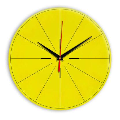 Настенные часы Ideal 954 желтые