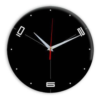 Настенные часы Ideal 955 черные