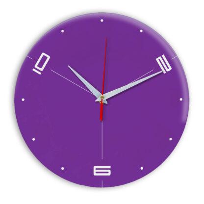 Настенные часы Ideal 955 фиолетовые