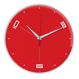 Настенные часы Ideal 955 красный