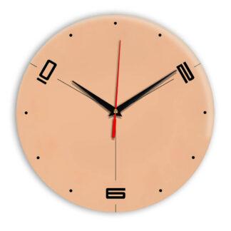 Настенные часы Ideal 955 оранжевый светлый