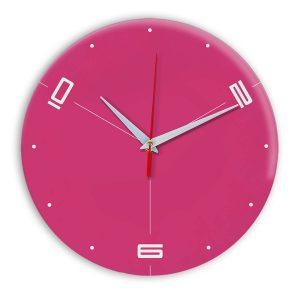 Настенные часы Ideal 955 розовые