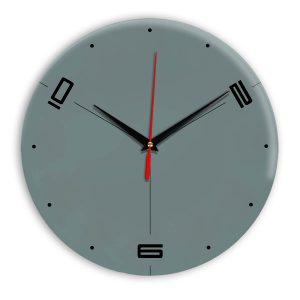 Настенные часы Ideal 955 серо синий
