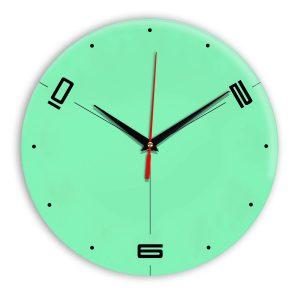 Настенные часы Ideal 955 светлый зеленый