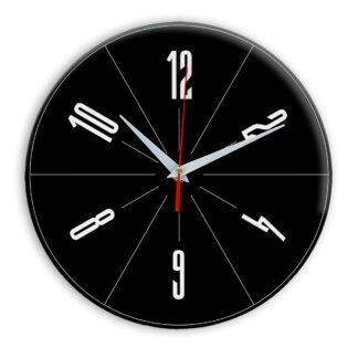 Настенные часы Ideal 956 черные