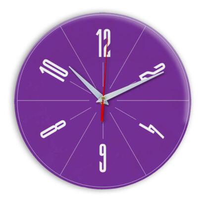 Настенные часы Ideal 956 фиолетовые