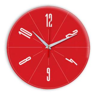 Настенные часы Ideal 956 красный