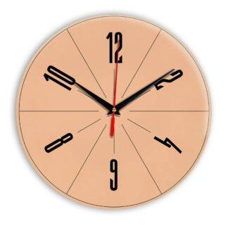 Настенные часы Ideal 956 оранжевый светлый