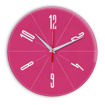 Настенные часы Ideal 956 розовые