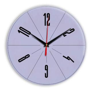 Настенные часы Ideal 956 сиреневый светлый