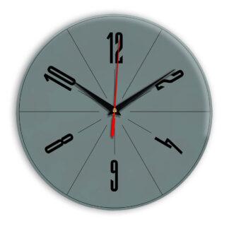 Настенные часы Ideal 956 серо синий