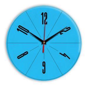 Настенные часы Ideal 956 синий светлый