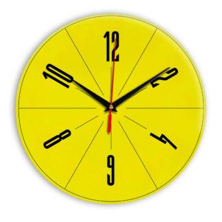 Настенные часы Ideal 956 желтые