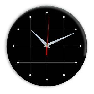 Настенные часы Ideal 957 черные