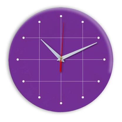 Настенные часы Ideal 957 фиолетовые