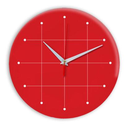 Настенные часы Ideal 957 красный