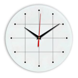 Настенные часы Ideal 957 белые