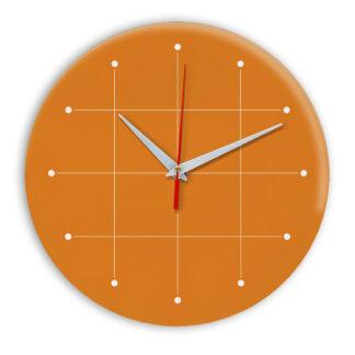 Настенные часы Ideal 957 оранжевый