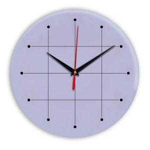 Настенные часы Ideal 957 сиреневый светлый