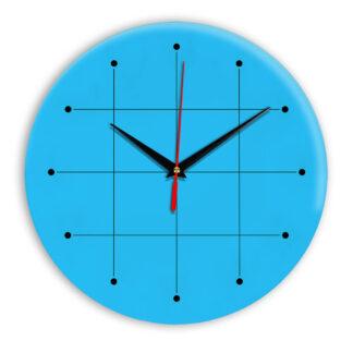 Настенные часы Ideal 957 синий светлый